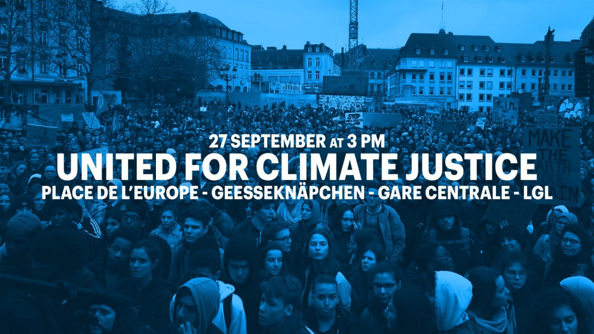 #united4climatejustice 27 September 15.00